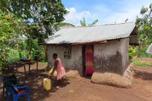 The Water Project: Rwenkole Community -  Storage Containers