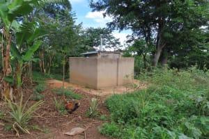 The Water Project: Kyakaitera Community -  Bathing Shelter