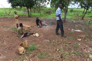 The Water Project: Kyakaitera Community -  Family Resting
