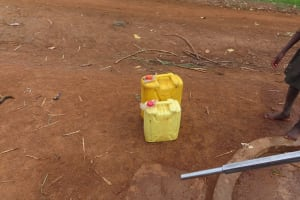 The Water Project: Kyakaitera Community -  Storage Containers