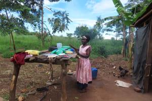 The Water Project: Kyakaitera Community -  Dishrack