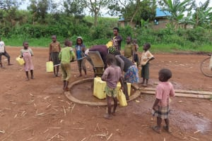 The Water Project: Kyakaitera Community -  Kids At The Pump