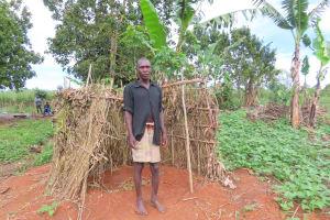 The Water Project: Kyakaitera Community -  Latrine