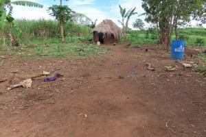 The Water Project: Kyakaitera Community -  Local Home