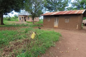 The Water Project: Kyakaitera Community -  Local Homes
