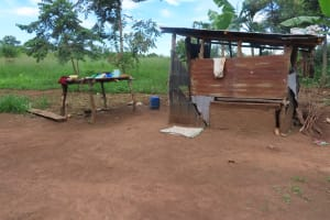 The Water Project: Kyakaitera Community -  Outside Kitchen