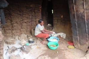 The Water Project: Kyakaitera Community -  Preparing Food