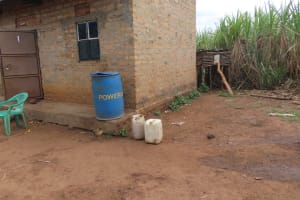The Water Project: Kyakaitera Community -  Water Storage Containers