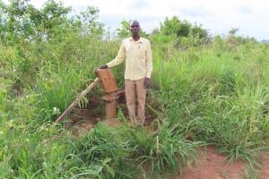 The Water Project: Kyakaitera Kyempisi Community -  Broken Borehole