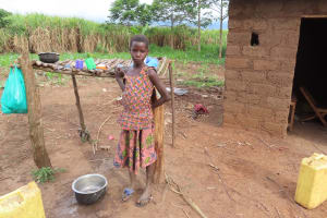The Water Project: Kyakaitera Kyempisi Community -  Dish Rack
