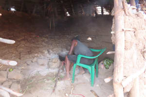 The Water Project: Kyakaitera Kyempisi Community -  Inside Kitchen