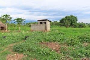 The Water Project: Kyakaitera Kyempisi Community -  Latrine