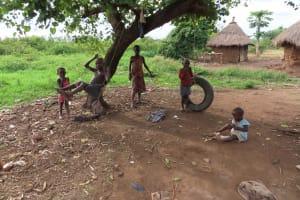 The Water Project: Kyakaitera Kyempisi Community -  Playing With Swings