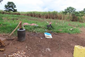 The Water Project: Kyakaitera Kyempisi Community -  Storage Containers