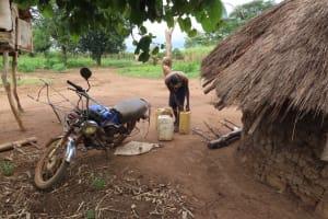 The Water Project: Kyakaitera Kyempisi Community -  Water Storage