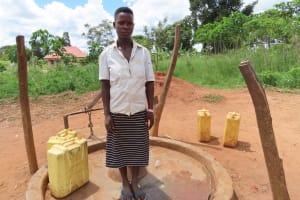 The Water Project: Kikingura Kidwaro Community -  Nakiyemba