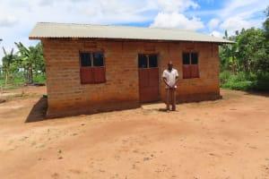 The Water Project: Kikingura Kidwaro Community -  Area Home