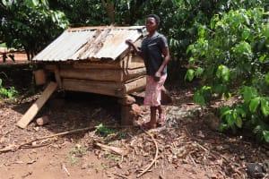 The Water Project: Kikingura Kidwaro Community -  Chicken House