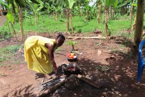 The Water Project: Kikingura Kidwaro Community -  Cooking Over Fire