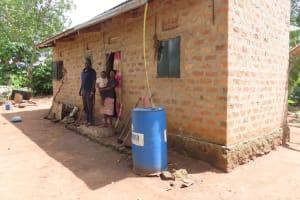 The Water Project: Kikingura Kidwaro Community -  Family At Home