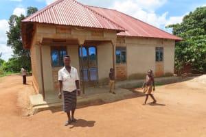 The Water Project: Kikingura Kidwaro Community -  Family Home