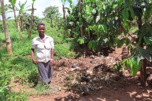 The Water Project: Kikingura Kidwaro Community -  Garbage Pit