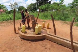 The Water Project: Kikingura Kidwaro Community -  Kids Pumping