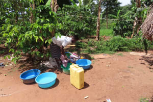 The Water Project: Kikingura Kidwaro Community -  Laundry