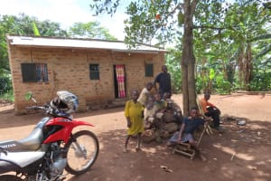 The Water Project: Kikingura Kidwaro Community -  Relaxing At Home