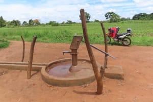The Water Project: Kikingura Kidwaro Community -  Well Needing Rehab