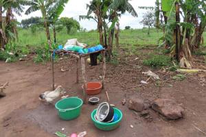 The Water Project: Kyabagabu Community -  Dish Rack
