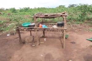 The Water Project: Kyabagabu Community -  Dish Racks