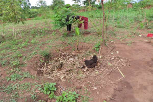 The Water Project: Kyabagabu Community -  Garbage Pit