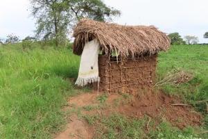 The Water Project: Kyabagabu Community -  Household Latrines