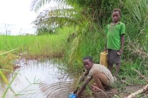 The Water Project: Kyabagabu Community -  Alternative Water Source