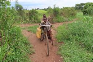 The Water Project: Kyabagabu Community -  Bike To Carry Water