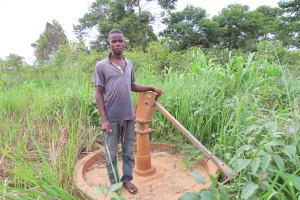 The Water Project: Kyabagabu Community -  Broken Pump