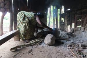 The Water Project: Kyabagabu Community -  Inside Kitchen