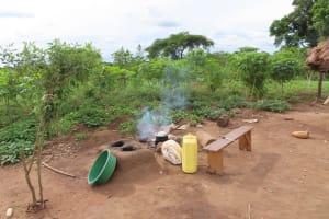 The Water Project: Kyabagabu Community -  Outside Kitchen