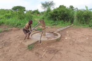 The Water Project: Kyabagabu Community -  Pump Needing Repairs