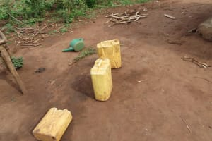 The Water Project: Kyabagabu Community -  Water Containers