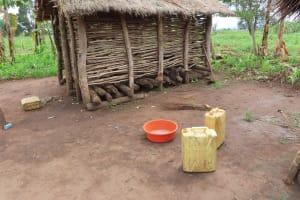 The Water Project: Kyabagabu Community -  Water Storage