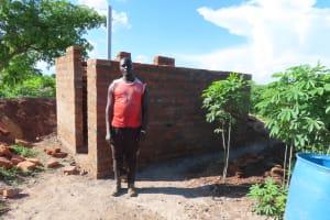 The Water Project: Kyandangi Community -  Brick Latrines