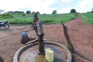 The Water Project: Kyandangi Community -  Community Borehole