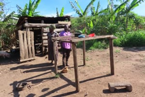 The Water Project: Kyandangi Community -  Dishrack