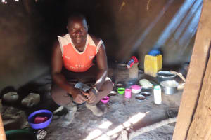 The Water Project: Kyandangi Community -  Indoor Kitchen