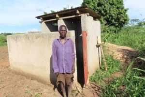 The Water Project: Kyandangi Community -  Latrines