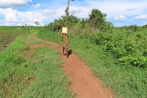 The Water Project: Kyandangi Community -  Walking With Water