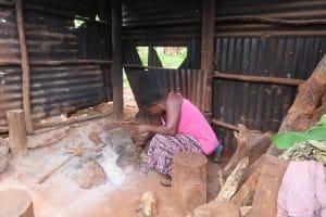 The Water Project: Kiryamasasa Community -  Inside Of The Kitchen