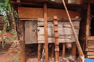 The Water Project: Kiryamasasa Community -  Animal Pen